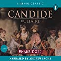 Candide (       UNABRIDGED) by  Voltaire Narrated by Andrew Sachs