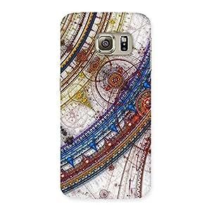 Premium Sonarp Multicolor Back Case Cover for Samsung Galaxy S6 Edge