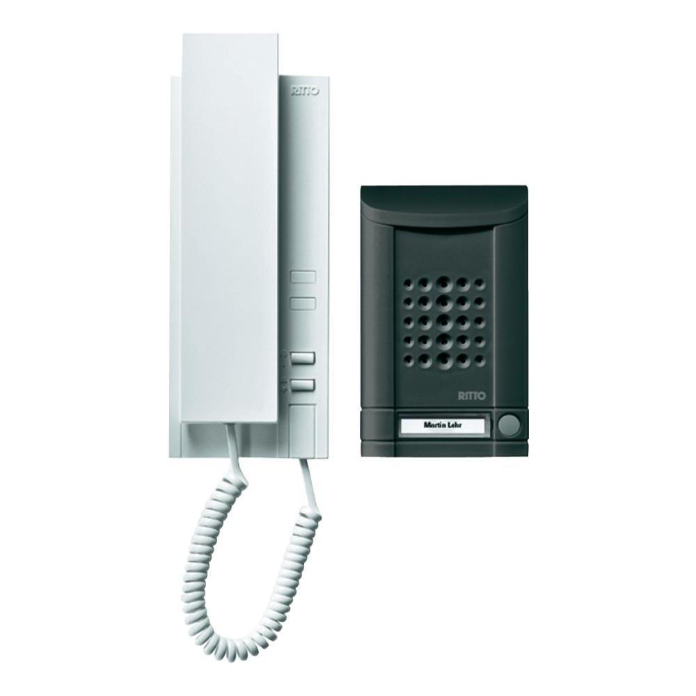 RITTO Minivox WohntelefonSet 1WE, anthrazit, 1673140  BaumarktÜberprüfung und Beschreibung