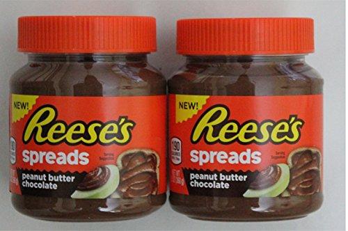 REESE'S Peanut Butter & Chocolate Spread - 2 pak