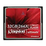 Tarjeta de memoria compact flash Kingston de 32 GB, 266x ultimate 2 32GB-U2.