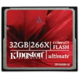 Kingston 32 GB 266X Compact Flash Card