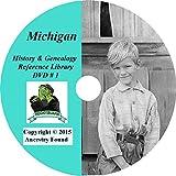 244 old books MICHIGAN History & Genealogy Family Tree