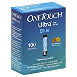One Touch Ultra Test Strips, Blue, 100 test strips