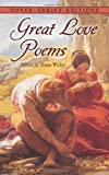 img - for Great Love Poems (Dover Thrift Editions) book / textbook / text book