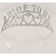 Forum Novelties Glitter Tiara (Bride…