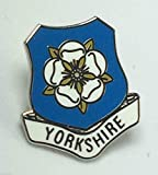 Yorkshire County White Rose Pin Badge