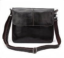 BAOSHA MS-03 Genuine Leather Slim Tablet PC Messenger Wristlet Bag Shoulder bag
