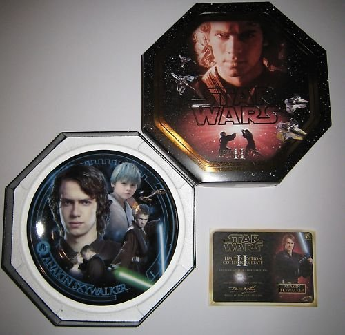 STAR WARS - LIMITED EDITION COLLECTOR'S PLATE - ANAKIN SKYWALKER by Toys+