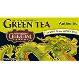 Celestial Seasonings Authentic Green Tea, 2er Pack (2 x 41 g)