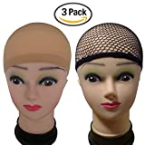 eBoot-3-Pack-Wig-Caps-Netural-Nude-Beige-and-Black-Mesh