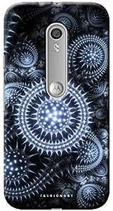 Fashionury Printed Back Case Cover For Moto G3-Print8953
