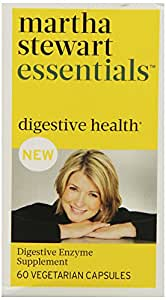 Martha Stewart Essentials Digestive Health Supplement, 60 Vegetarian Capsules