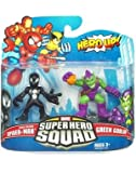 Marvel Super Hero Squad Black Costume Spider-Man & Green Goblin