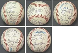 1989 Texas Rangers Autographed Hand Signed Baseball with Nolan Ryan, Sammy Sosa... by Real+Deal+Memorabilia