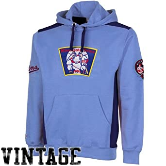 MLB Majestic Minnesota Twins Cooperstown Collection Catcher Hoodie Sweatshirt - Light... by Majestic