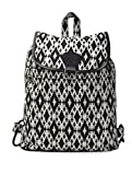 Crafts My Dream Women's Backpack Handbags Black And White Cmd140193