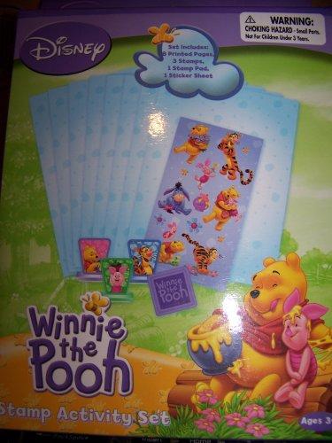 Disney Winnie the Pooh & Friends Stamp Activity Set