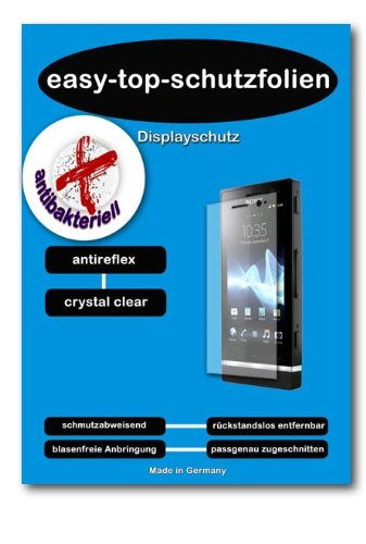 ANTIBAKTERIELLE CrystalClear Displayschutzfolie f&#252;r Car PC mit 26.4 cm (10.4 Zoll) Displays [210 x 158 mm, Seitenverh&#228;ltnis 4:3]