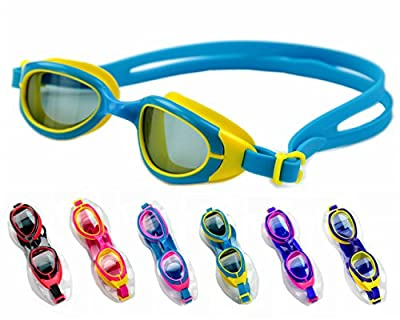 Jancosta Anti Fog Swimming Goggles for Kids