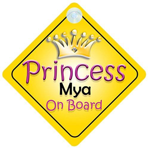 """Mya On Board """"Principessa"""" per bambini e Baby-002 regalo"""