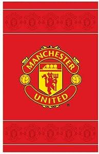 Manchester Utd F.C. Crest Rug by Zap Ltd