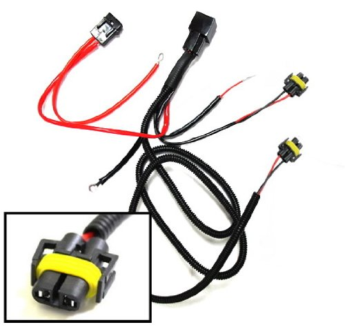 iJDMTOY H11 880 890 Relay Wiring Harness For HID Conversion Kit, Add-On Fog Lights, LED Daytime Running Lamps and more (Car Add On Wiring compare prices)