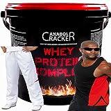 Whey Protein Creatin Komplex, 900g Eimer, Banane Eiwei�shake+ Sporthose + Muskel T-Shirt Bild