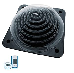Game solarpro xd1 aquaquik swimming pool solar heater heating coil w thermostat for Swimming pool solar heaters amazon