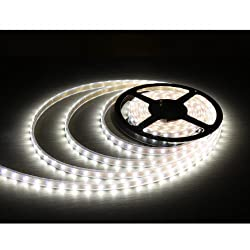 Toygully Diwali Decorative LED strip Light White Waterproof 5mtr with Adaptor