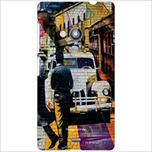 Design Worlds Back Case Cover For Nokia Lumia 535