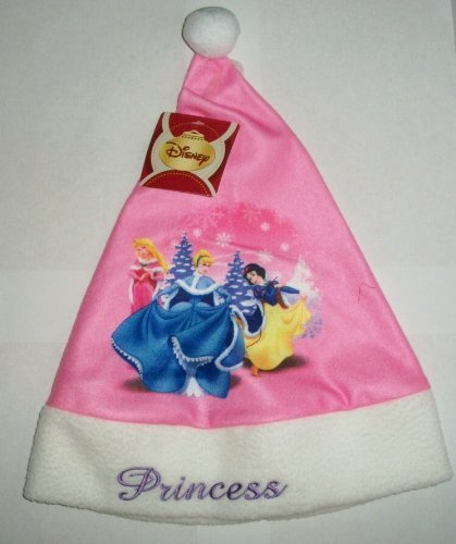 Disney Cinderella and Snow White Princess Christmas Santa Hat - 1