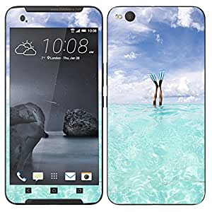 Theskinmantra Float Swim mobile skin for HTC One X9