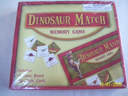 DINOSAUR MATCH Memory Game