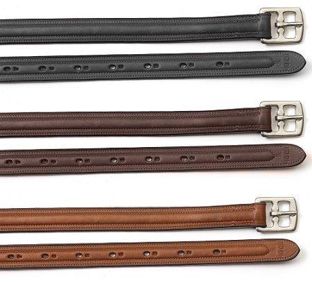 Ovation Soft Slide Lined Leathers Med Brown