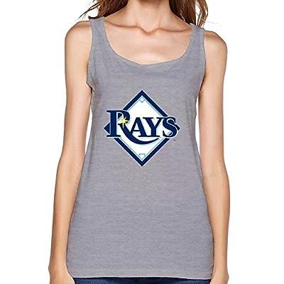 NYCQL Women's Tampa Bay Rays Vest Tank Tops