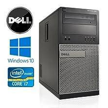 buy Dell Optiplex 990 Minitower - Intel Quad Core I7 3.4Ghz, *New* 1Tb Hdd, 8Gb Ddr3, Windows 10 Professional 64-Bit, Wifi, Dvd-Rom (Prepared By Recircuit)