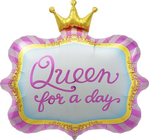"Queen For A Day 23"" Foil Balloon - 1"