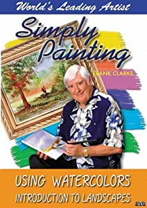 Simply Painting: Using Watercolors - Introduction to Landscapes [Import]