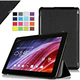 IVSO Slim Smart Cover Case for ASUS Transformer Pad TF103C Notebook - will only fit ASUS Transformer Pad TF103C (Black)