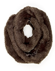M&S Collection Faux Fur Snood Scarf