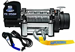 Superwinch 1517200 Tiger Shark 12V DC Winch with Roller Fairlead - 17,500 lbs. Capacity from Superwinch