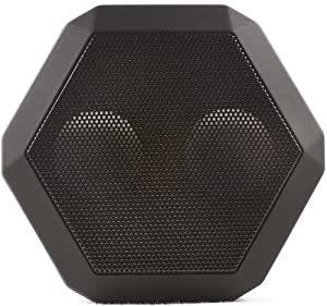 Boombotix REX Wireless Ultraportable Weatherproof Speaker for iPods Smartphones Tablets and Laptops (Pitch Black)