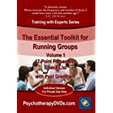 The Essential Toolkit for Running Groups: 17 Point Preparation Check List (Psychotherapy Training with Paul Grantham) DVDby SDS Media LLP