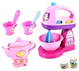 Fancy Household Kitchen Pretend Play Battery Operated Toy Home Appliances Play Set w/ Accessories (Styles May Vary)