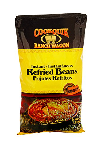 Cookquik Dehy Refried Smooth Pinto, 30 oz (Freeze Dried Refried Beans compare prices)