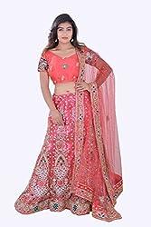 lamaan Bridal Designer Lehenga, Choli and Dupatta Set For Wedding