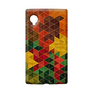 100 Degree Celsius Back Cover for LG Google Nexus 5 (Multicolor)