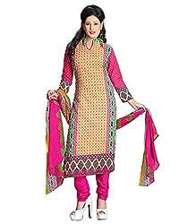 ZHot Fashion Women's Printed Un-stitched Dress Material In Cotton Fabric (ZH1013) Multi