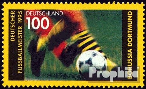BRD (BR.Deutschland) 1833 (kompl.Ausgabe) postfrisch 1995 Borussia Dortmund (Briefmarken für Sammler)